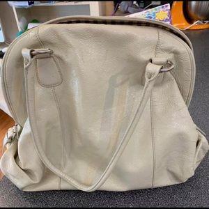Cream hobo international bag
